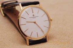 上海江诗丹顿手表回收如何辨别真假?