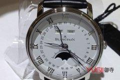我为什么买宝珀正装系列6654手表?这款手表上海哪里能回收
