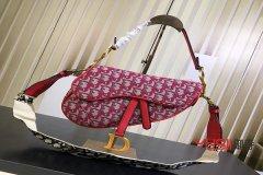 上海迪奥包包老花帆布系列马鞍包回收能卖多少钱?