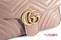 北京Gucci小号GG Marmont系列绗缝肩背包回收行情怎么样?打几折